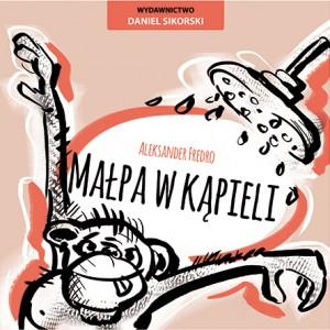 małpa w kąpieli_wydawnictwo daniel sikorski